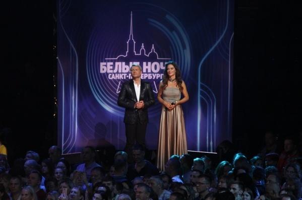 Участники конкурса «Белые ночи Санкт-Петербурга» исполнили песни Михаила Гуцериева