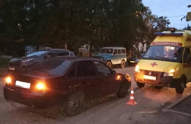 10-летнюю девочку сбила машина вВологде