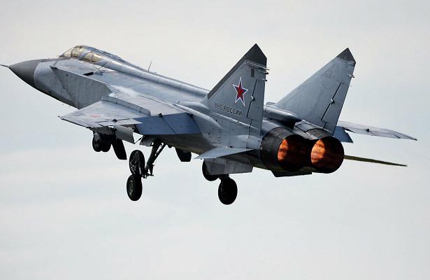 Российский истребитель перехватил самолет США
