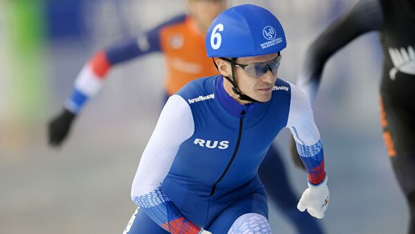Захаров победил вмасс-старте наКубке Союза конькобежцев России