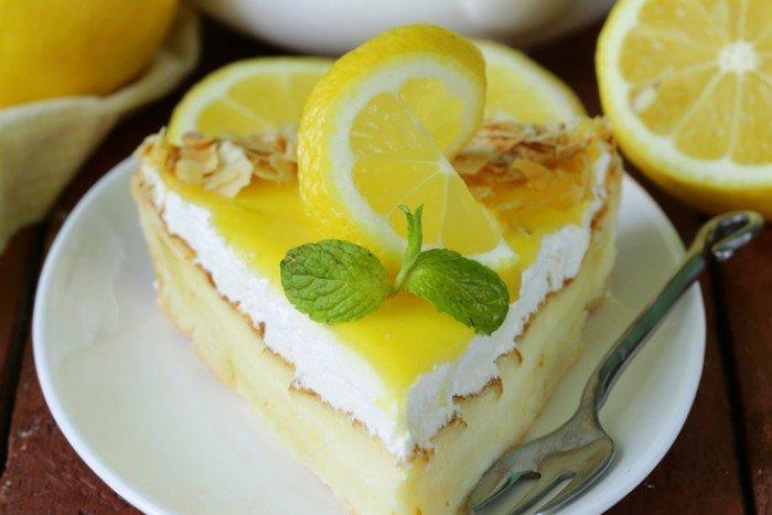 Десерты с лимоном рецепты с фото
