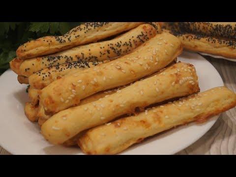 Быстрый рецепт сырных палочек