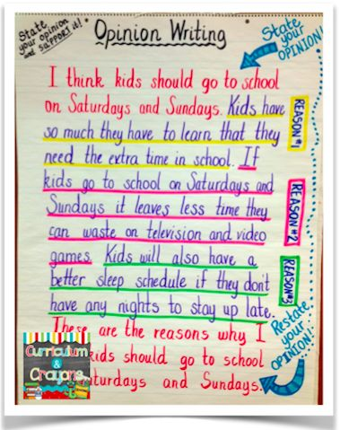 Best 25+ Opinion writing ideas on Pinterest Opinion writing - what to write