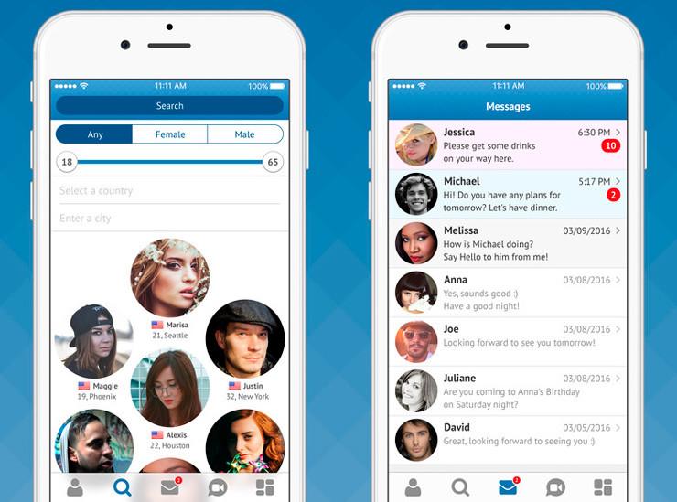 Лучшие сайты знакомств на айфон