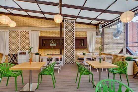 Ресторан Подполиум  - фотография 7 - Летняя терраса Подполиум