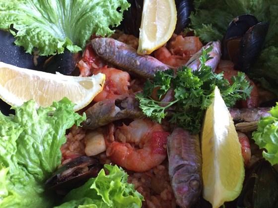 Ресторан Nautilus - фотография 1 - Паэлья