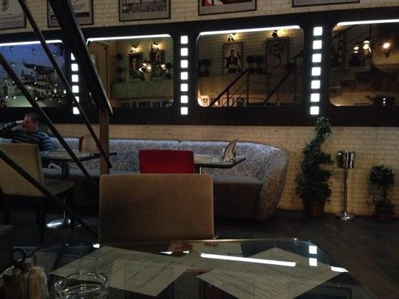 Ресторан Tarantino - фотография 1 - Второй этаж.