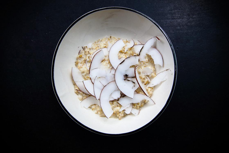 Ресторан Tehnikum - фотография 5 - овсяная каша на кокосовом молоке