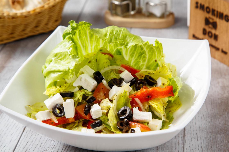 Ресторан Smoking Don - фотография 10 - Греческий салат/Greece salad