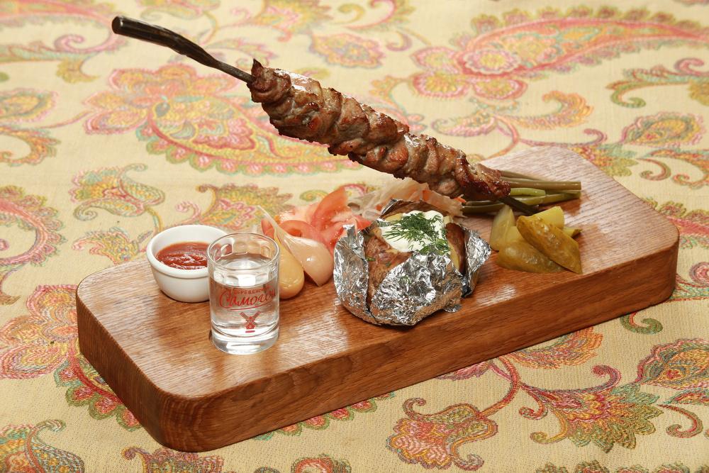 """Ресторан Добрыня - фотография 23 - """"Стрела Ивана"""" мясо на выбор. Фирменное блюдо."""