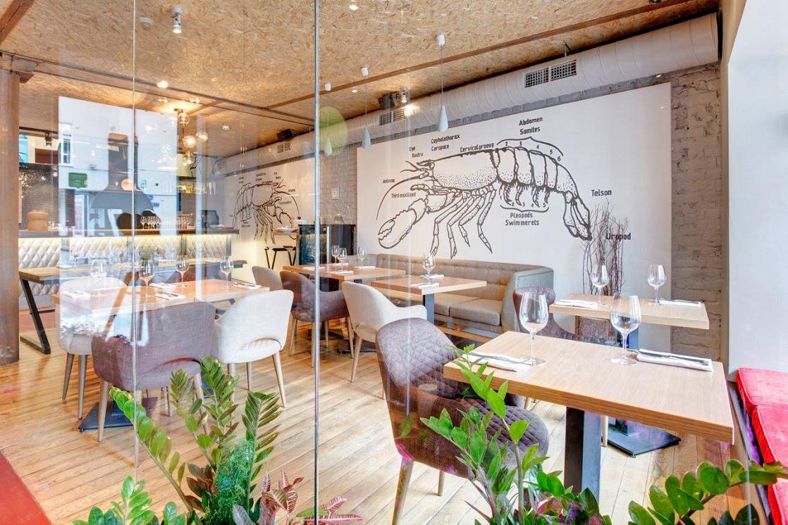 Ресторан Школа вина 0,75 - фотография 1 - Малый зал