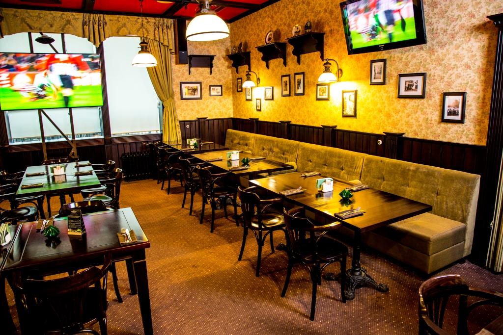 Ресторан Patrik Pub - фотография 2 - Зал 2