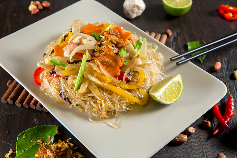 Ресторан NVB - фотография 1 - Миен Сао - прозрачная вермишель с морскими продуктами и овощами