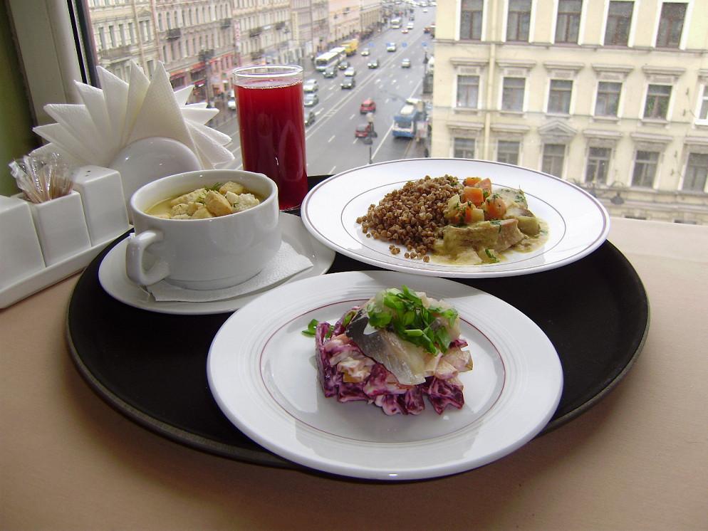 Ресторан Атриум - фотография 35 - бизнес-ланч с видом на Невский