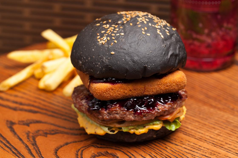 """Ресторан Электроугли - фотография 1 - Бургер """"Барак Обама"""""""