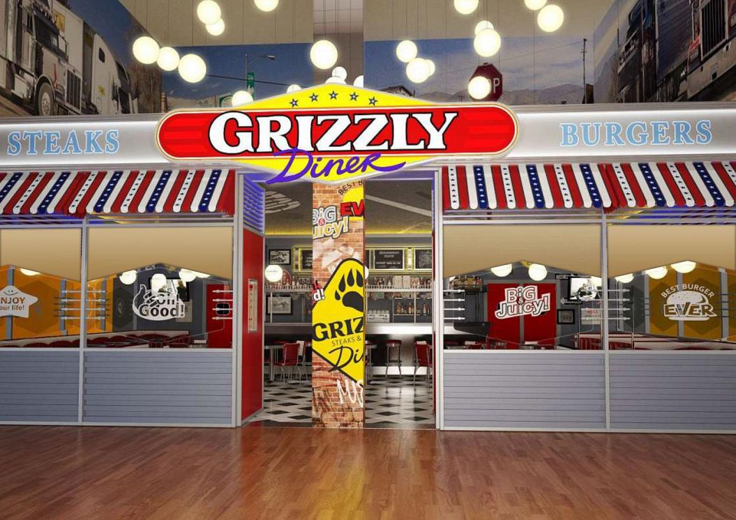 Ресторан Grizzly Diner - фотография 1