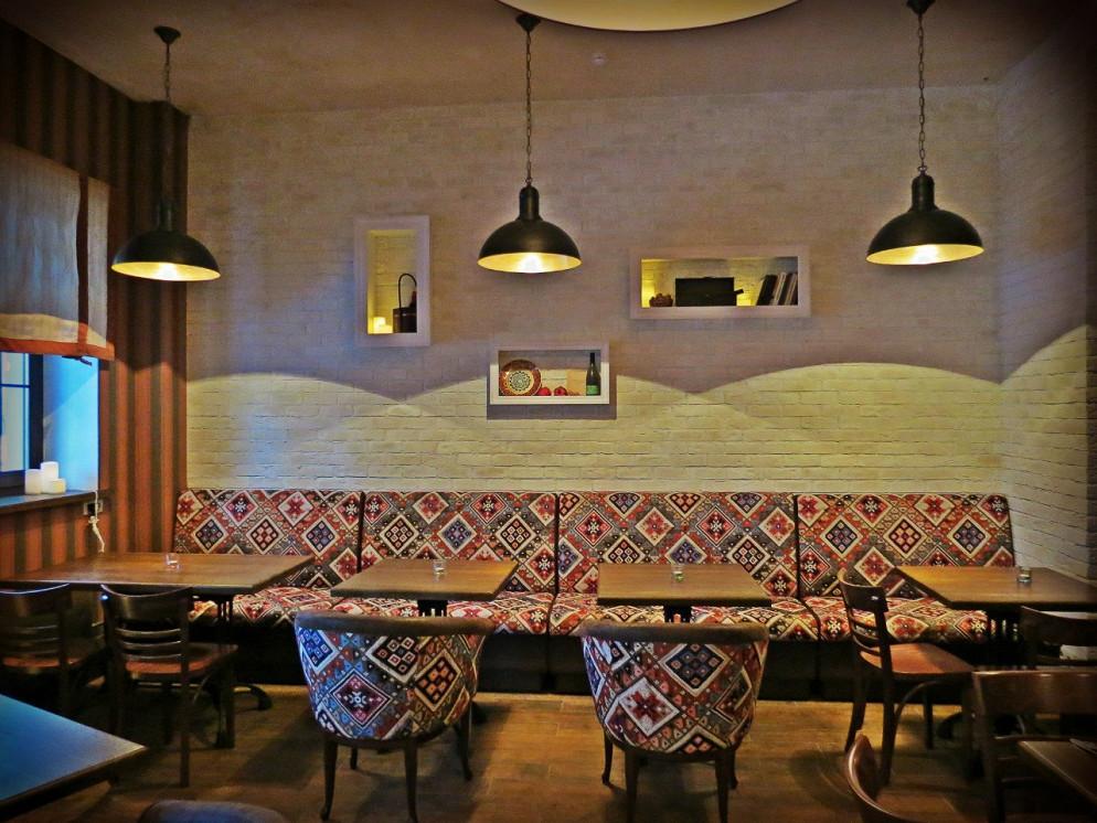 Ресторан Torsher - фотография 3 - Большой Зал