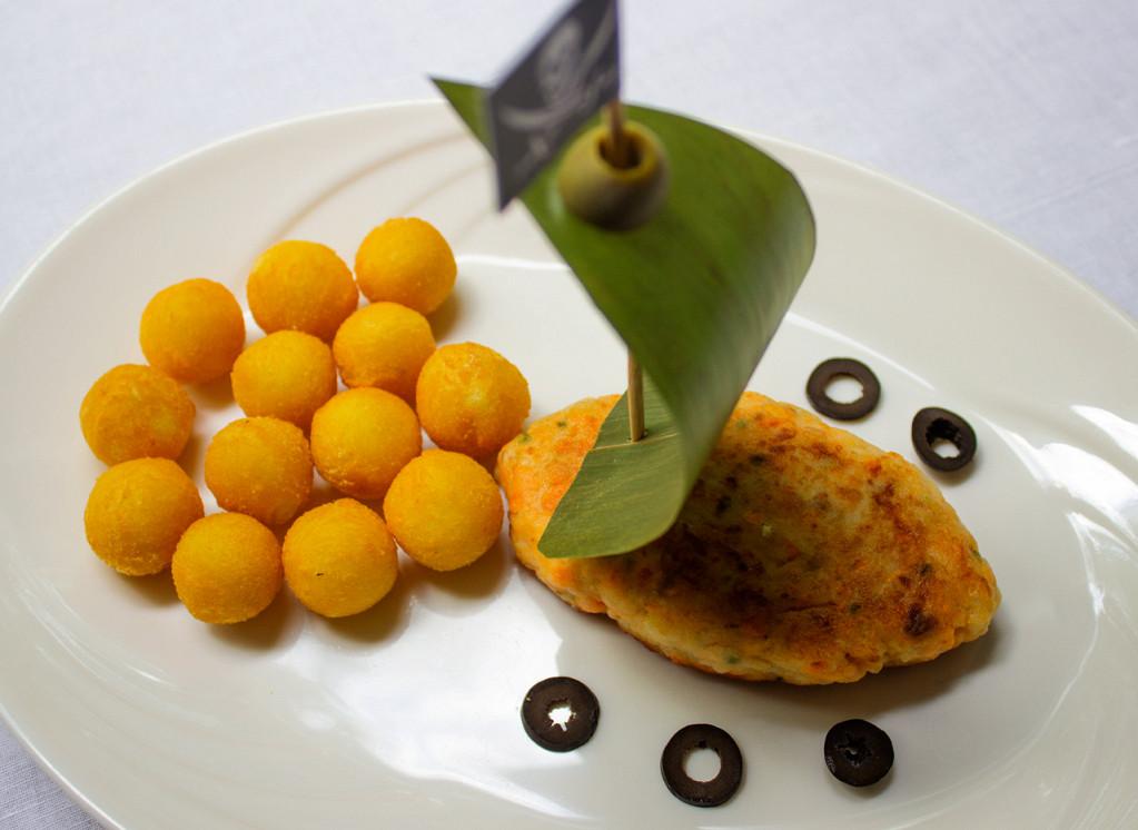Ресторан Квартира №15 - фотография 10 - Детское меню: ингредиенты полезные для здоровья + интересная подача