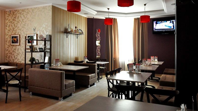 Ресторан Пицца-фабрика - фотография 3 - Уютная атмосфера
