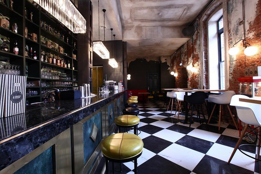 Ресторан Синематограф - фотография 14 - Бар