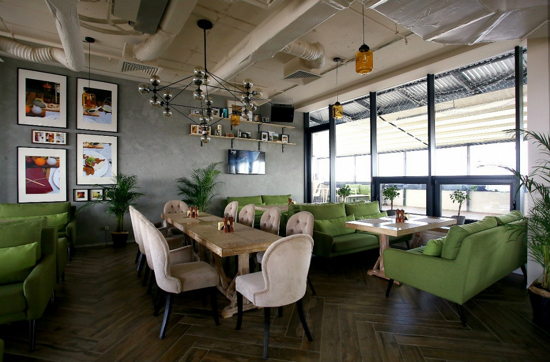 Ресторан Gazon - фотография 1