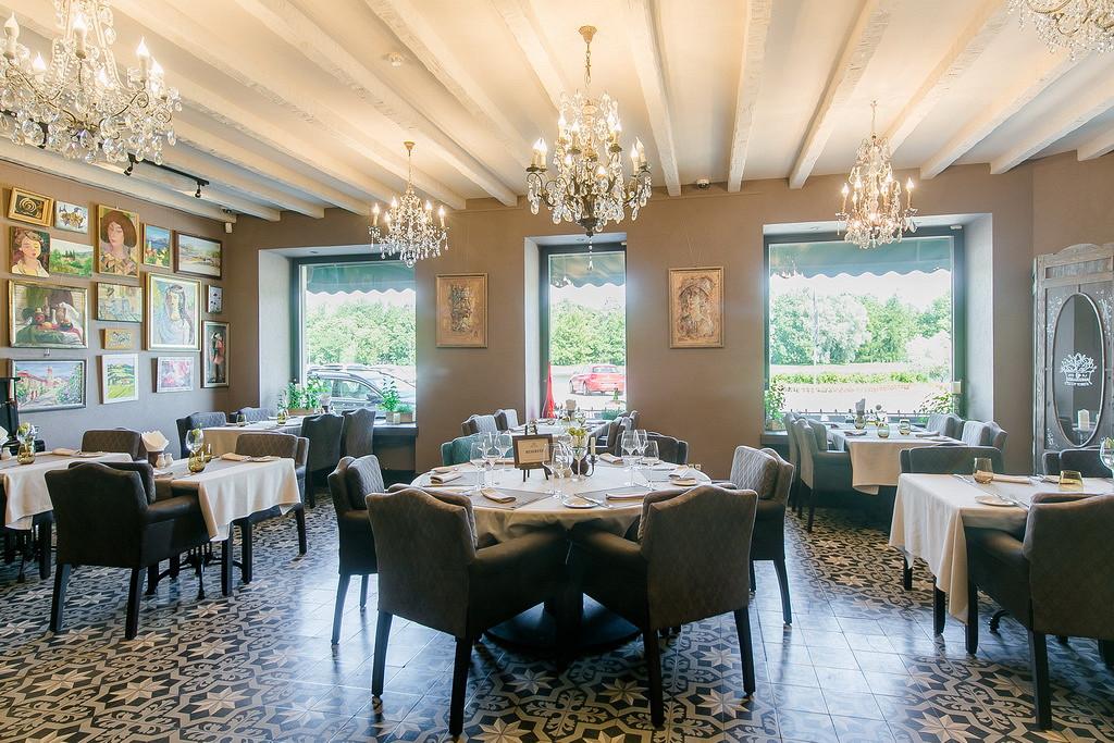 Ресторан Марсельеза - фотография 1 - Большой зал