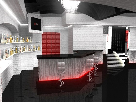 Ресторан Dyxless - фотография 15 - Бар, танцпол