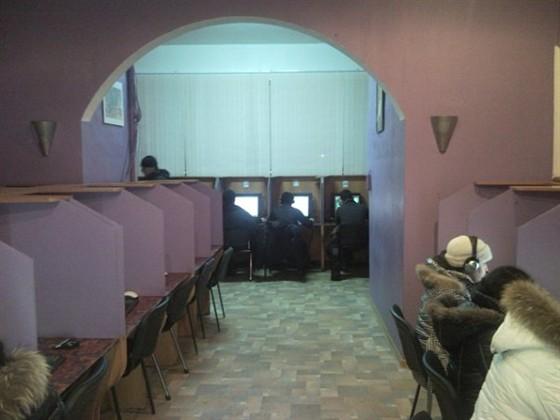 Ресторан Cyberia - фотография 2 - 1 и 2 зал
