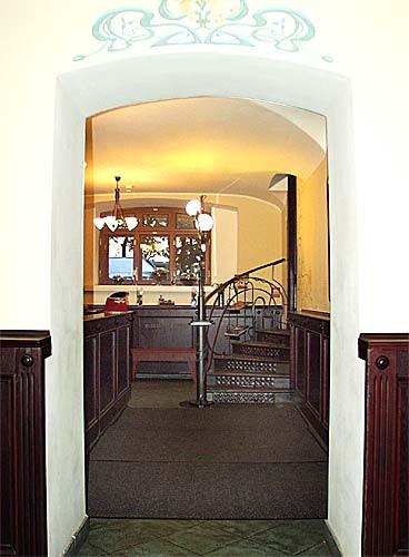 Ресторан Дворец князя Кочубея - фотография 4 - Ресторан. Гардероб.