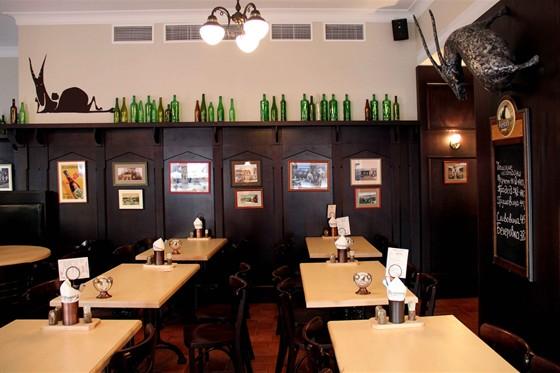 Ресторан Козловица - фотография 2 - Интерьер Козловицы