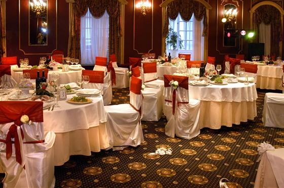Ресторан Bellagio - фотография 6 - БАНКЕТНЫЙ ЗАЛ