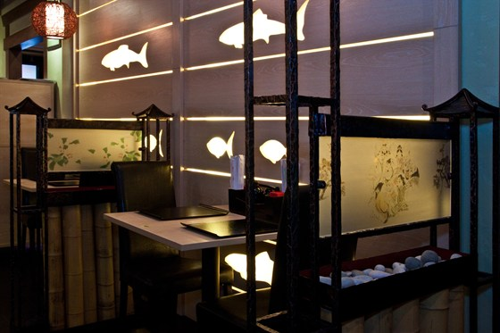 Ресторан Мидори - фотография 7 - Зал японской кухни