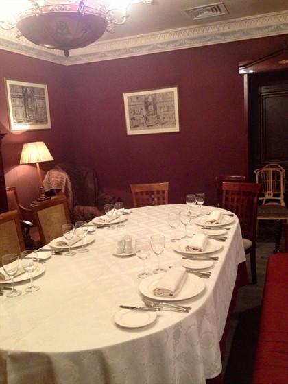 Ресторан Обломов на Пресне - фотография 5 - Кабинет Обломова