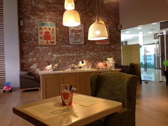 Ресторан Олива - фотография 2 - Внутренняя обстановка