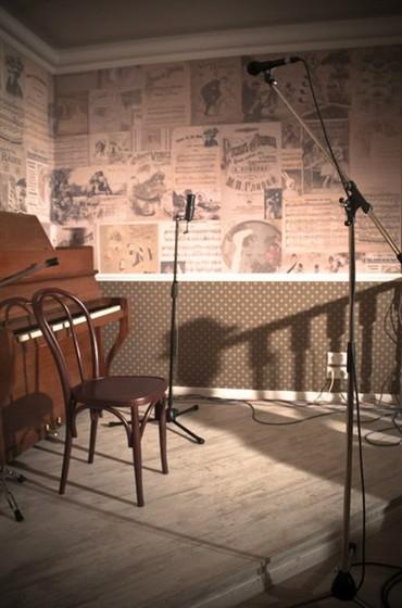 Ресторан Шагал - фотография 14 - Основной зал. Сцена.