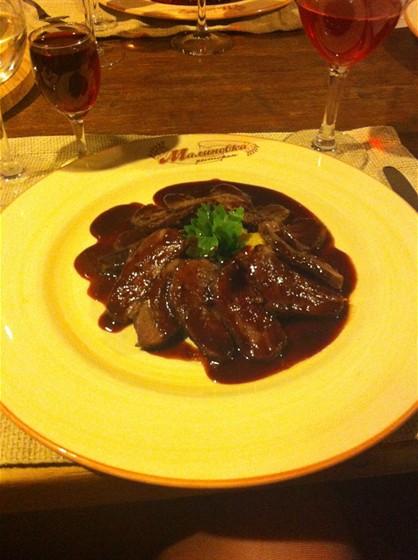 Ресторан Малиновка - фотография 3 - Утиная грудка