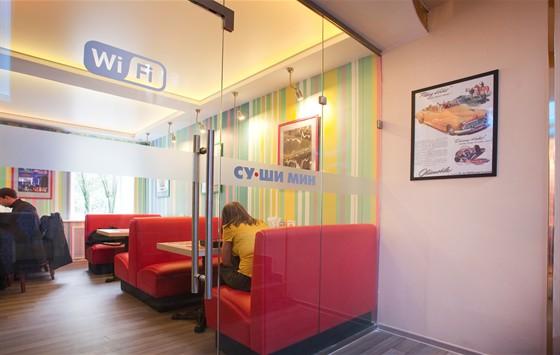 Ресторан Сушимин - фотография 5 - Б. Покровская, 63 СУШИМИН после ремонта сентябрь 2011