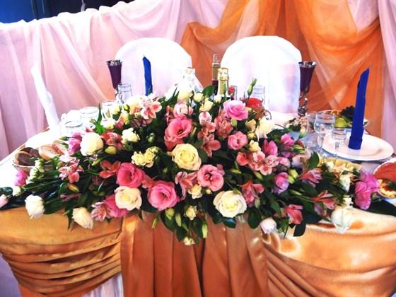 Ресторан Ковчег - фотография 13 - Свадебное оформление