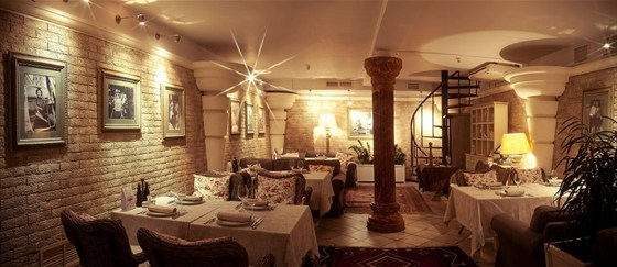 Ресторан Sorbetto - фотография 13 - Зимний зал.