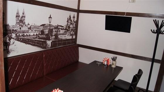 Ресторан Чешский дворик - фотография 3 - ВИП-кабинет