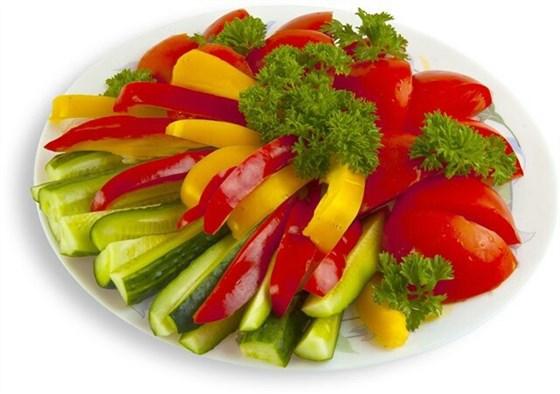 Ресторан Черемушка  - фотография 5 - Овощная нарезка