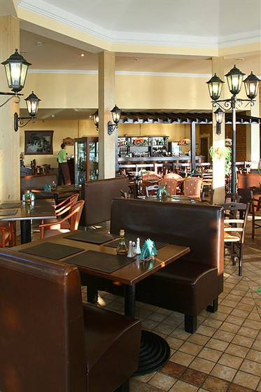 Ресторан Панчо-пицца - фотография 3 - Мягкая зона