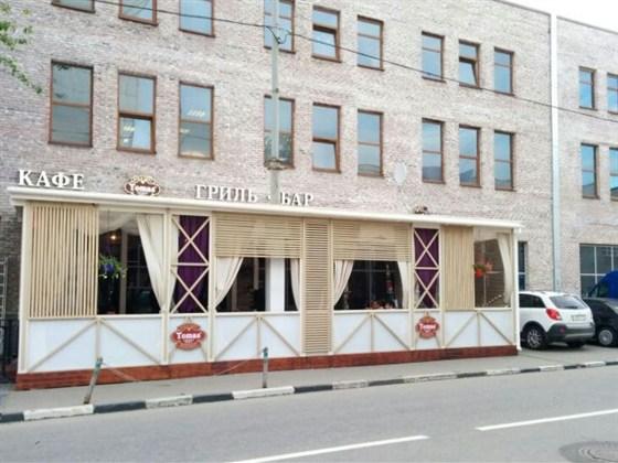 Ресторан Tomas Smokey Grill - фотография 6 - В Томас Смки Гриль открыта летняя веранда