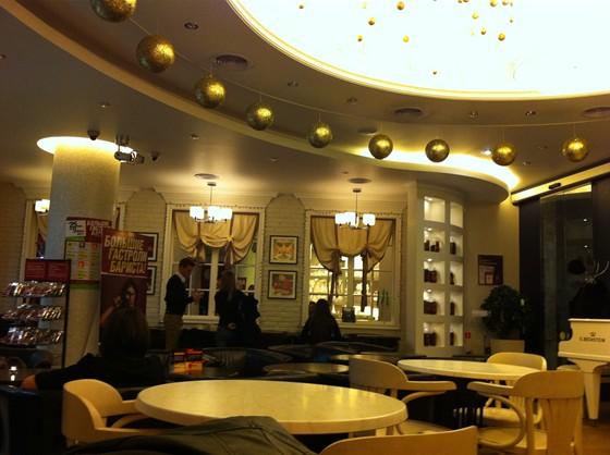 Ресторан Кофеин - фотография 1 - Общий зал.