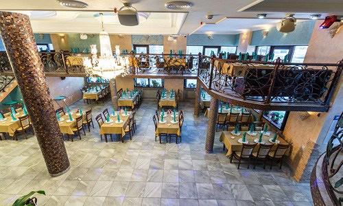 Ресторан Аквариум - фотография 10 - Вид с малого балкона.