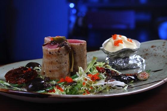Ресторан Funky Lab - фотография 31 - Филе тунца
