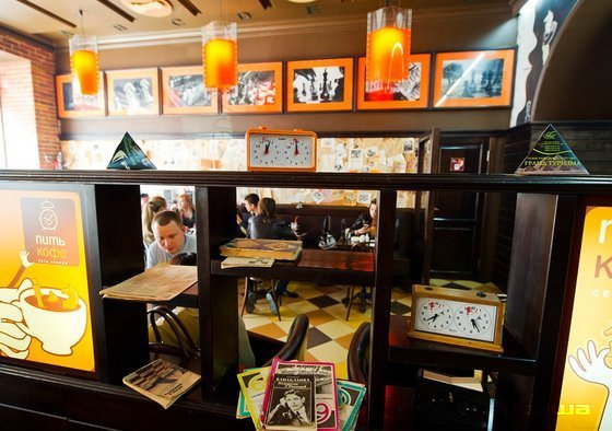 Ресторан Питькофе: Шахматы - фотография 6