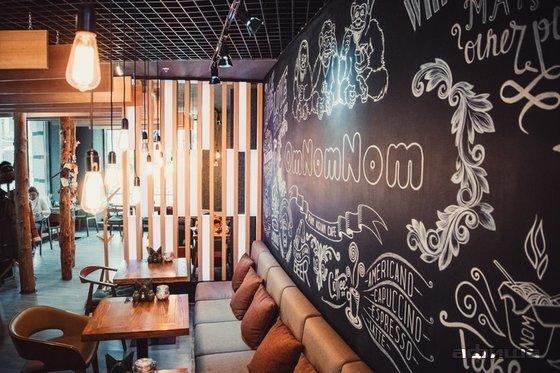 Ресторан Om Nom Nom - фотография 11