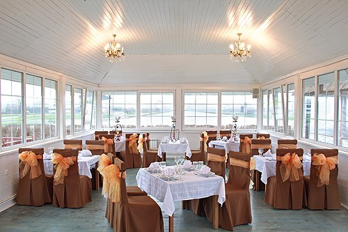 Ресторан Терраса на Гребном - фотография 6 - Теплая терраса