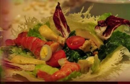 "Ресторан Fusion Plaza - фотография 4 - Салат ""Клеопатра"""